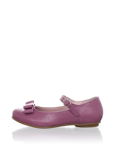 Pampili Kid's Dotted Mary Janes (Mauve)