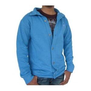 Pullover Button- Blue