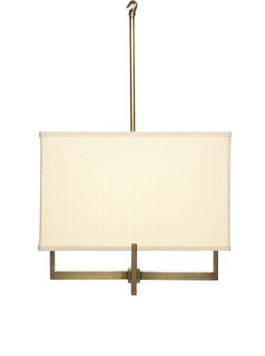 Feiss 3-Light Shaded Pennant, Coffee Bronze