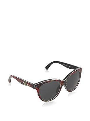 Dolce & Gabbana Sonnenbrille 4176 293887 (49 mm) rot/schwarz