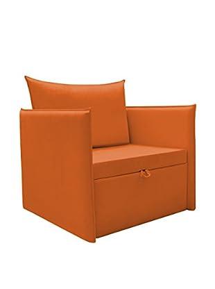 Furby Plus 5 Poltrona Letto  90X90X94H cm Arancione