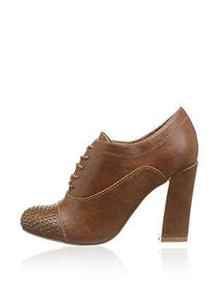 Chocolate Schubar Zapatos abotinados