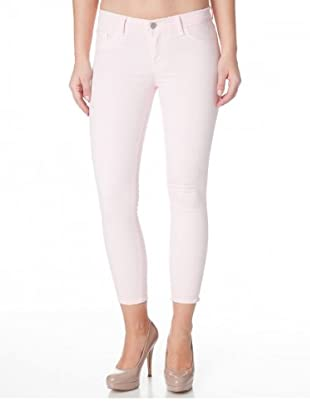 J Brand Hose Luxe Twill Japanese cropped (prettypink)