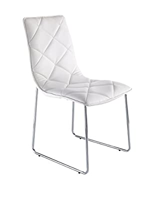 Contemporary Home Set Silla 4 Uds. Soft Blanco
