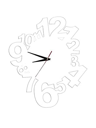 SuperStudio Reloj De Pared Modern Numbers