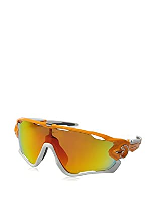 OAKLEY Sonnenbrille Polarized Mod. 9290 929009 (130 mm) silberfarben/orange