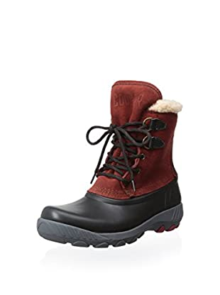 Cougar Women's Maple Sugar Lace-Up Insulated Snow Boot (Black/Burnt Henna)