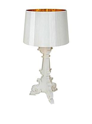 Kartell Tischlampe Bourgie weiß/gold