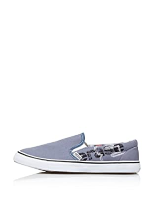 Erase Zapatillas Deportivas con Cordones de Lona (Jeans)