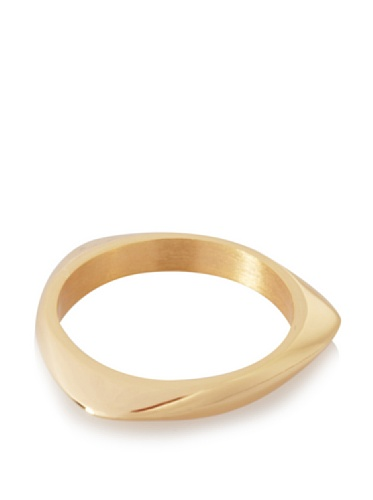 Katie Rowland Lilith Solid Tri Stacker Ring (Yellow Gold)
