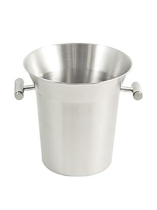 Bey-Berk Ice Bucket, Silver