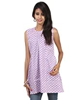 Rajrang Cotton Kurti - PTP00064 (Purple)