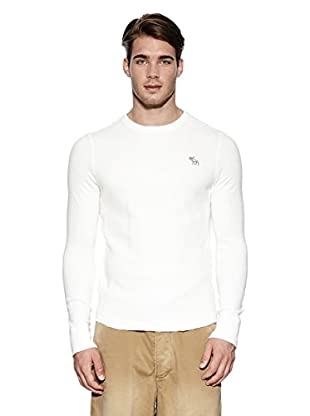 Abercrombie & Fitch Pullover Classic Crew (creme)