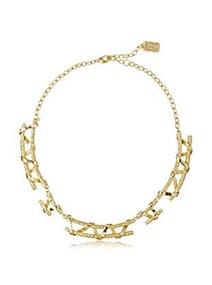 Karine Sultan Jewelry Twisted Double Row Necklace