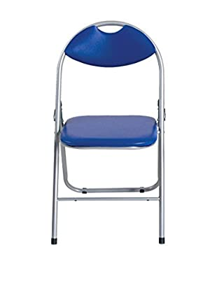 Special tables & Chairs Set Silla Plegable 6 Uds. Zaira Azul