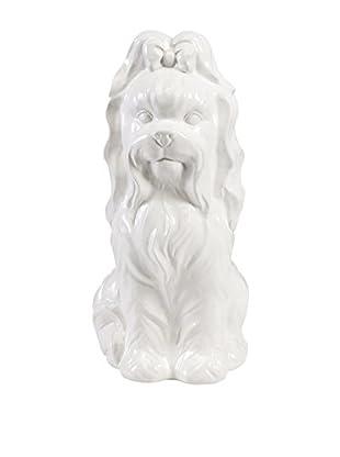 Beatrice Ceramic Dog Statuary
