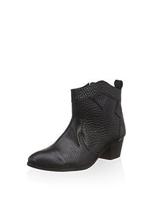 Black Lily Biker Boot