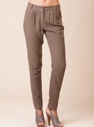 American Vintage Pantalón Rusti (marrón)