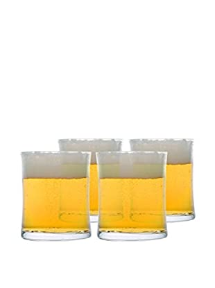 BergHOFF Set of 4 Concavo 10.8-Oz Beer Glasses