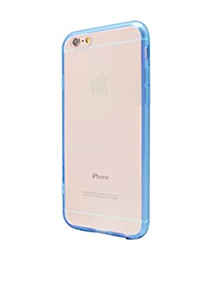 NUEBOO Hülle Fluor-Side iPhone 6/6S blau