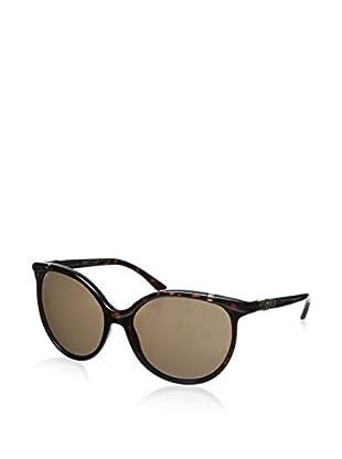 Tory Burch Women's TY9032 Dark Tortoise/Brown Solid Sunglasses