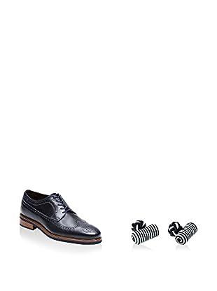 Ortiz & Reed Zapatos derby + Gemelos SET-ZCP37-GN8