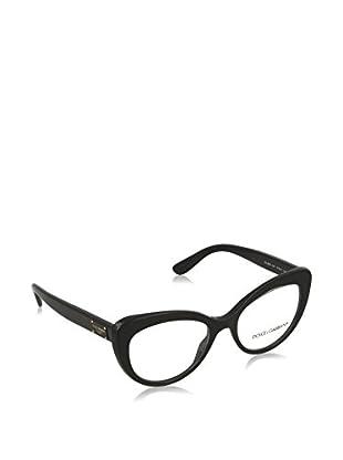 Dolce & Gabbana Gestell 3255_501 (51 mm) schwarz