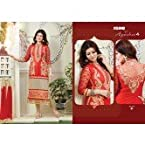 Beautiful Ayesha Takia Orange Salwar Suit
