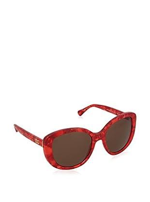 Dolce & Gabbana Sonnenbrille 4248 292373 (55 mm) rot