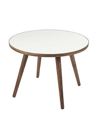 Control Brand Sputnik Coffee Table, White/Walnut