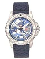 Seiko 5 Sports Automatic Blue Camouflage Dial Mens Watch - SRP223K2