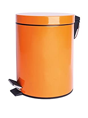 Mülleimer 12 L orange