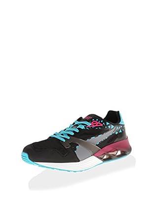 PUMA Men's Future XT-Runner Translucent Sneaker (Black/Beetroot Purple/Bluebird)