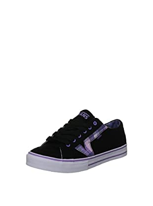 Vans Zapatillas Tory Fashion (Negro / Lila)