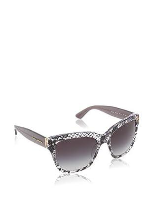 Dolce & Gabbana Gafas de Sol 4226 28548G (56 mm) Negro / Blanco