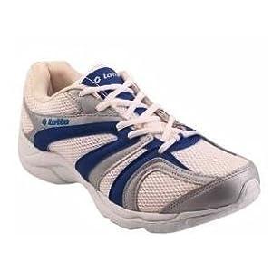 Lotto Navigator White & Blue Running Shoes - AR1335