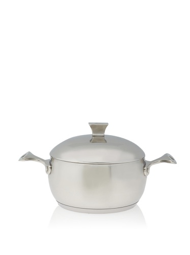 Art & Cuisine Chaudron Series Stainless Steel Pot with Lid (Stainless Steel)