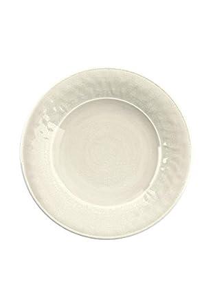 Color Wash Melamine Salad Plate, Solid White