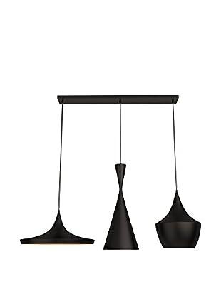 Light&Design Lámpara De Suspensión Moira Lighting Negro/Oro