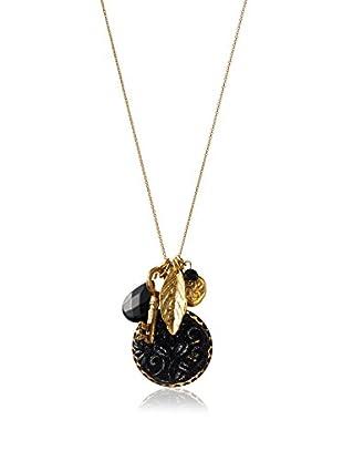 David Aubrey Multi-Stone Cluster Necklace