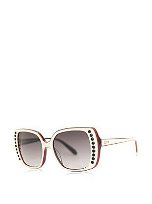 Moschino Gafas de Sol 744S-03 (56 mm) Blanco / Rojo