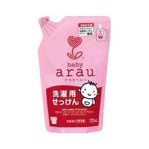 【クリックでお店のこの商品のページへ】arau. アラウベビー 洗濯用せっけん 詰替用 720ml: ヘルス&ビューティー