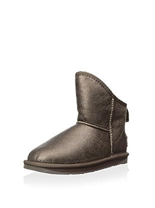 Australia Luxe Collective Womens Cosy X-Short Vintage Metallic Boot (Bronze)