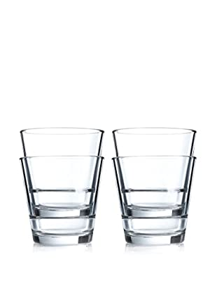 Arc International Set of 4 Stack Up 10.75-Oz. Old Fashioned Glasses