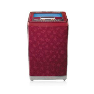 LG 9 Kg T1021PFRV Top Loading Fully Automatic Washing Machine-Dark Red Pattern