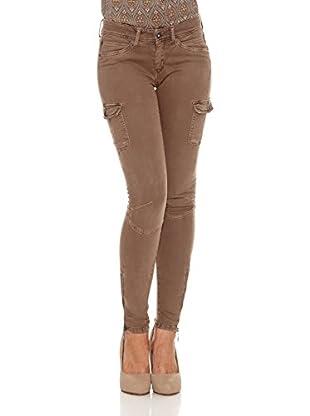 Pepe Jeans London Pantalón Claire (Caqui)