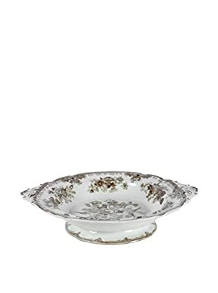 Asiatic Pheasants Swedish Serving Bowl, Brown/Cream