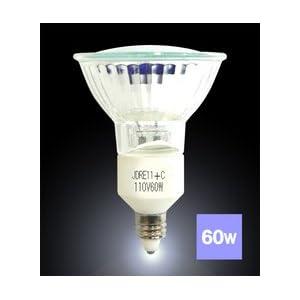 【クリックで詳細表示】ラウダ スポットライト、看板、壁面のライトアップ等に最適 ハロゲンランプ110V60W型(ミラー付)E11 口金E11φ50 広角 JDR110V60W-E11 JDR110V60W-E11