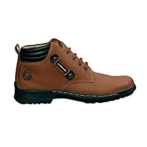 Red Chief Tan Men Boots RC6011 ELEPHANT TAN