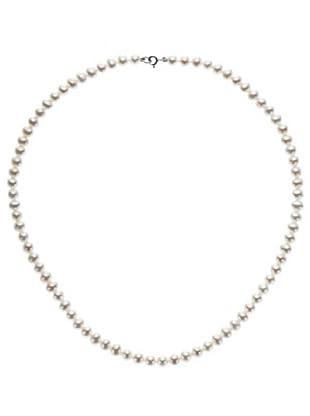 Emi Kawai Kette Perle Weißgold 18k 5,50-6 mm
